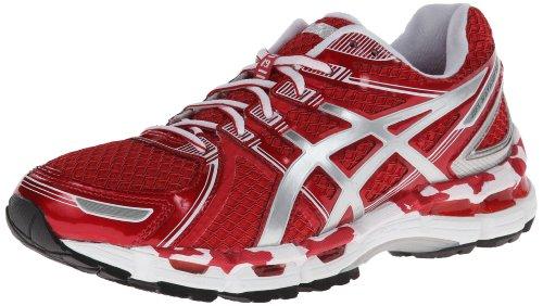 a759dacd ASICS Women's Gel-Kayano 19 Running Shoe,Hot Red/White/Silver,6.5 M ...