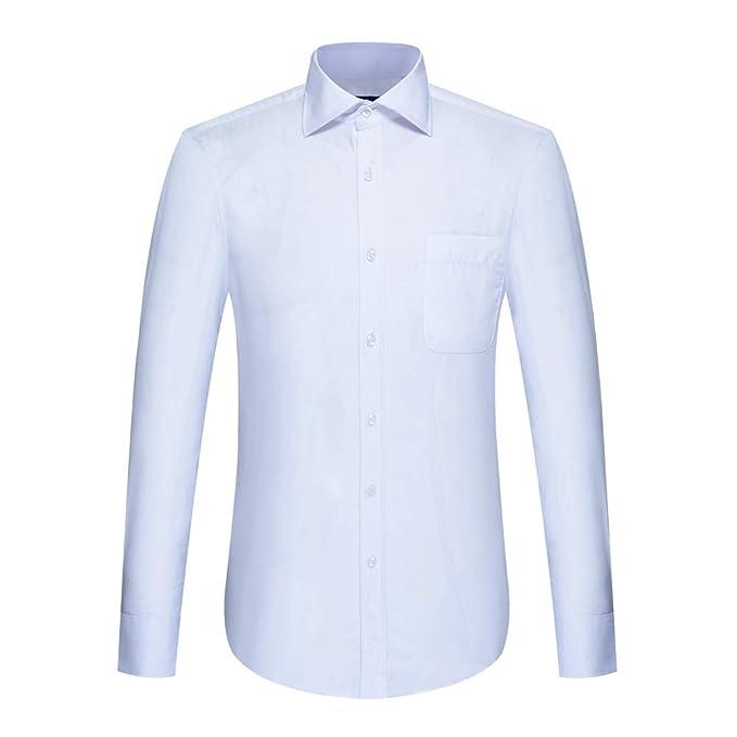 Amazon.com: AMACH - Camisa de manga larga para hombre ...