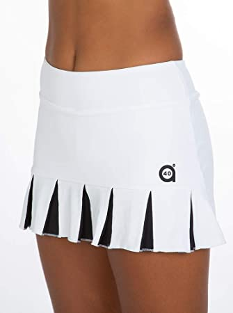 a40grados Sport & Style, Falda Feliz Blanca, Mujer, Tenis y Padel ...