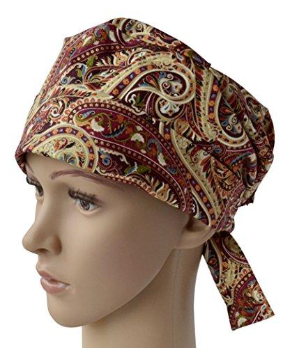 Red Scrub Hat (Classic Surgical Scrub Hat)