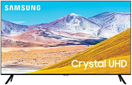 Samsung 85-inch Class Crystal UHD TU-8000 Series - 4K UHD HDR Smart TV with Alexa Built-in (UN85TU8000FXZA, 2020 Model) (Renewed)