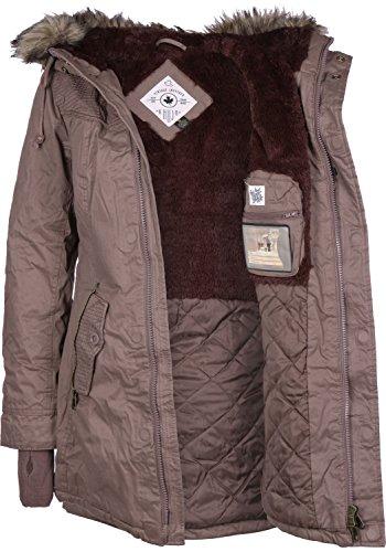 Khujo Milo W Chaqueta de invierno marrón