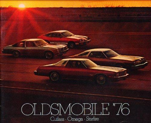 1976 Oldsmobile Original Sales Brochure - 442 Cutlass Supreme Omega Starfire