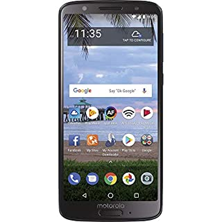 Total Wireless Motorola Moto G6 4G LTE Prepaid Smartphone (Locked) - Black - 16GB - Sim Card Included - CDMA