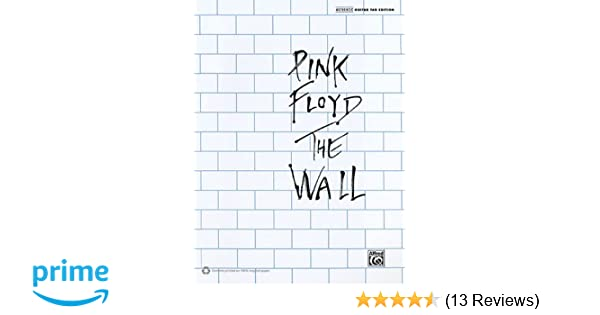 Amazon.com: Pink Floyd: The Wall Authentic Guiatr Tab Edition ...