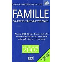 FAMILLE VOTRE CONSEILLER JURIDIQUE 2007