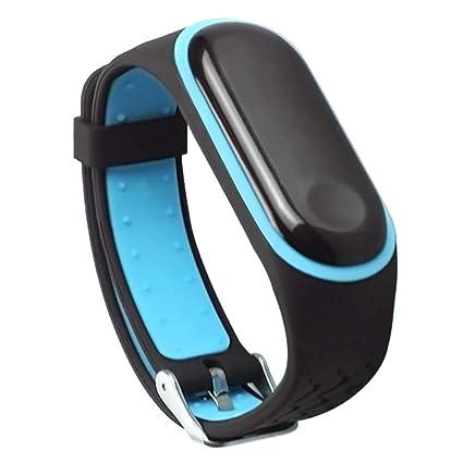 Xiaomi Mi Band 3 Correas Silicona, Zolimx Correas para Relojes | Reloj Inteligente Mujer Xiaomi Mi Band 3 | Pulseras de Repuesto | Ancho: 19.8mm | ...