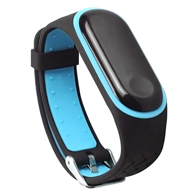 ❀para el Reloj Inteligente Xiaomi Mi Band 3, Pulsera de Silicona Duradera de Repuesto antirretorno Absolute: Amazon.es: Ropa y accesorios