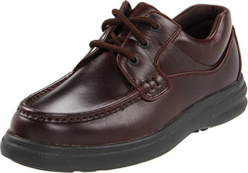 Hush Puppies Mens Gus Oxford, Dark Brown, 42.5 2E EU/8.5 2E UK