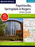 Rand Mcnally Fayetteville, Springdale and Rogers Street Guide, Rand Mcnally, 0528866753