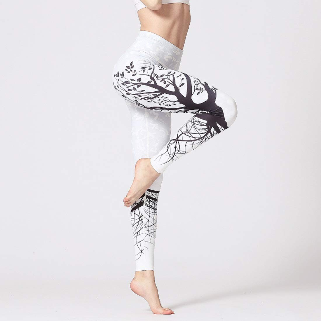 A003 Huayue Yoga Pants Women's Printing and QuickDrying Elongate Operative Fitness Printing Trousers