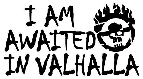 amazon com i am awaited in valhalla mad max style vinyl jeep truck