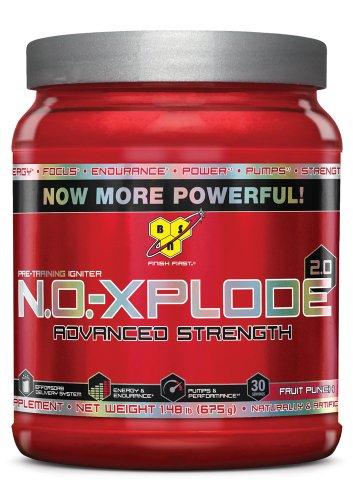BSN Noxplode 30 Serve Powder, Fruit Punch, 1.48 Pound, Health Care Stuffs