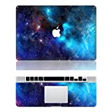 """Vati Leaves Removable Galaxy Protective Full Cover Vinyl Art Skin Decal Sticker Cover for Apple MacBook Air 13.3"""" inch (A1369/A1466)"""