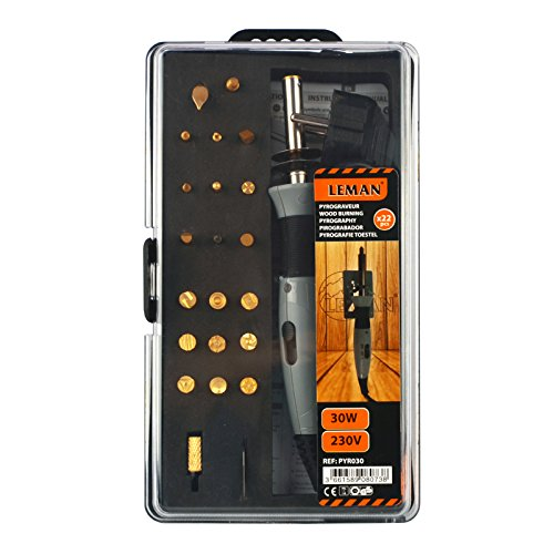 Leman PYR030 Brandmal-Set (30W) Orange