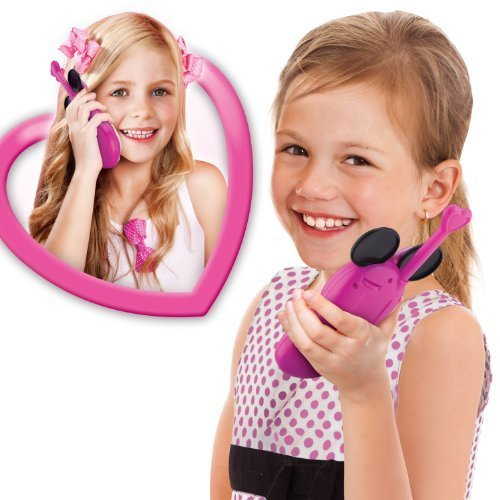 Long Range Walkie Talkies - Minnie Mouse Walkie Talkies, pink by KIDdesigns, Inc (Image #1)