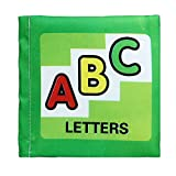 Doinshop Soft Cloth Cognize Book Baby Intelligence Development Education Toys Learning Picture (ABC Letters)