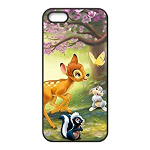 Spring scenery deers and lovely small animal Cell Phone Case for iPhone 5S