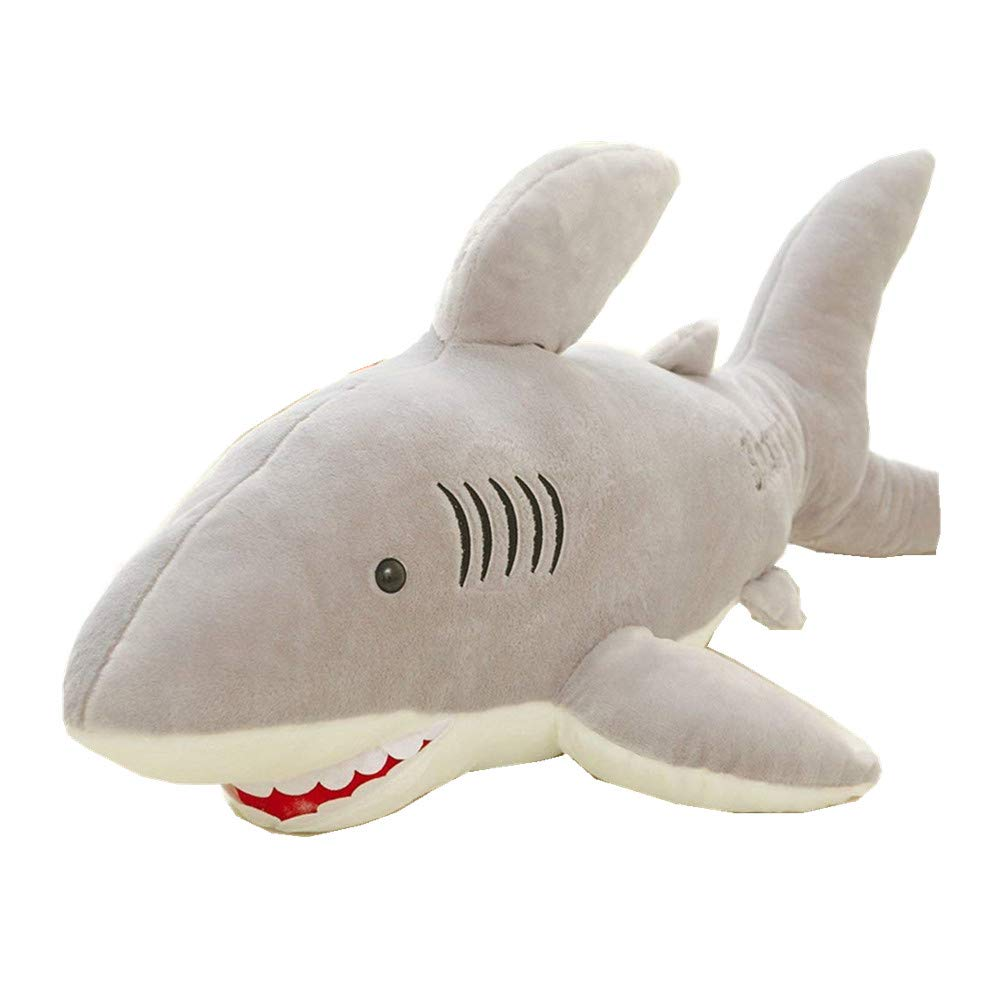 Benbroo Creative Shark Jaws Plush Toys large Pillow Children's Birthday Present.