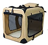 EliteField 3-Door Folding Soft Dog Crate, Indoor & Outdoor Pet Home, Multiple Sizes - Best Reviews Guide