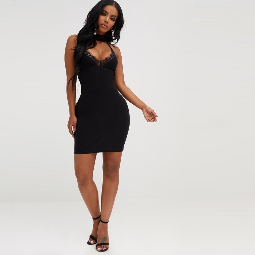 8440098ed2 JYC Encaje Elegante Casual Vestido