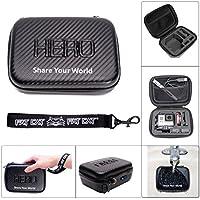 Carbon Fiber Waterproof Case Storage Bag for Gopro Hero3 Hd Hero2 Accessories