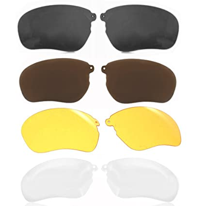 6faaee6e4b Amazon.com  WONFAST® 4pairs Pack Replacement Sunglassess Lenses Lens ...