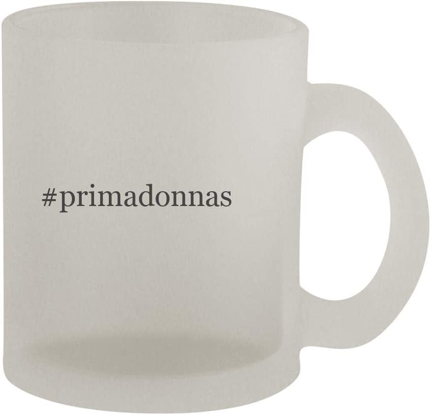 #primadonnas - 10oz Hashtag Frosted Coffee Mug Cup, Frosted