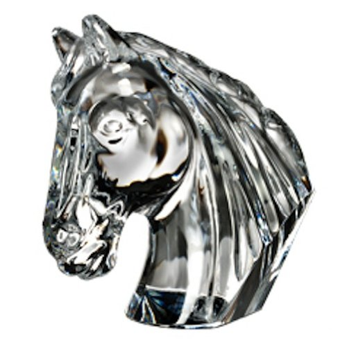 Waterford Crystal Horse Head Collectible