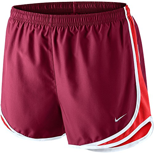 NIKE Lady Tempo Running (Red Ladies Tempo Shorts)