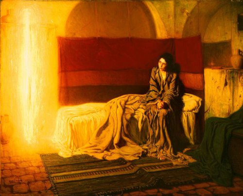 Classic Art Poster - The Annunciation by Henry Ossawa Tanner American