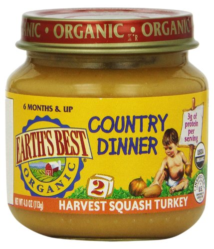 Earths Best Harvest Squash Organic