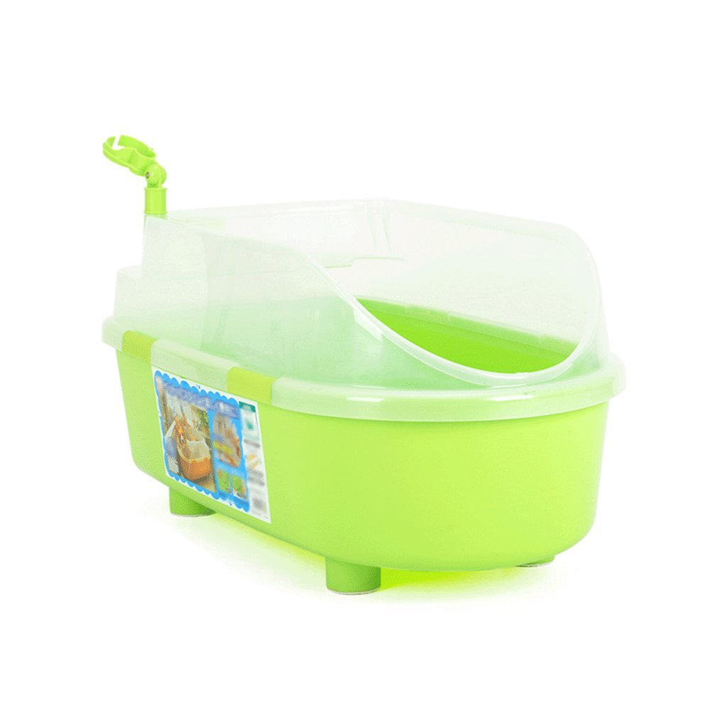 Green Plastic Dog Bath Tub, Cat Dog Bath Tub, Swimming Pool Bath, 66  36  45cm (color   Green)
