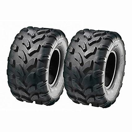 Amazon com: SET OF TWO: ATV Tubeless Type Tires Size: 18x9