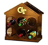 Henson Metal Works 4700-37 Georgia Tech Logo Wine Rack
