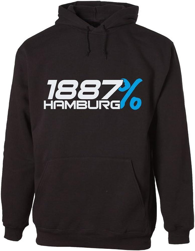 G Graphics Unisex Hoodie 1887 Hamburg 156 0296 Bekleidung