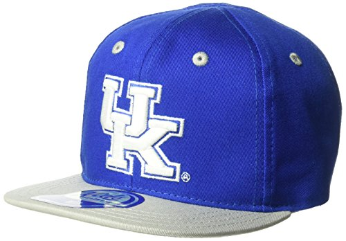NCAA by Outerstuff NCAA Kentucky Wildcats Infant 2-Tone Flatbrim w/ Elastic Closure, Royal, Infant One - Elastics Flats Royal