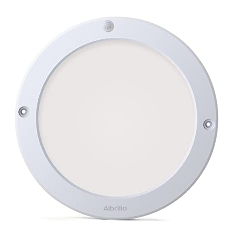 Albrillo indoor motion sensor light led ceiling lights flush mount for kitchen hallway bathroom
