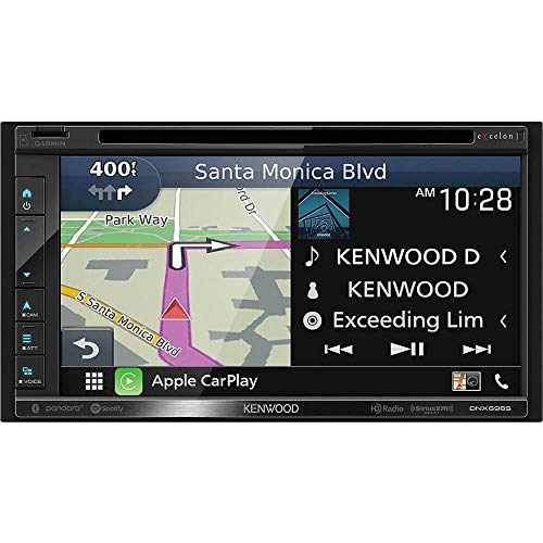 Kenwood DNX696S 6.8 Inch Apple CarPlay, Android Auto A/V Receiver w/Navigation (Stereo Kenwood Wifi)