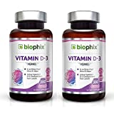 2 D3 10000 IU 380 Softgels Vitamin Pack – High-Potency | Non-GMO | Soy-Free | In Extra Virgin Olive Oil | Strong Bones | Immune Health | Support for K-2