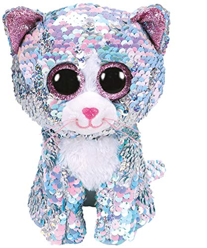 Ty - Beanie Boos - Flippables Whimsy Blue Cat /toys -