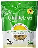 Fruitables Pumpkin & Apple Crunchy Dog Treats 1-7 oz Pouch