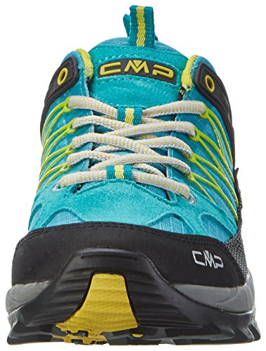 C.P.M. Rigel - Zapatos de Low Rise Senderismo Mujer Turquesa (Curacao)