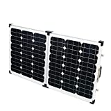 80w 18v Mono Foldable Solar Panel 2x 40w Module with 10A USB Controller for Roof Home Garden Outdoor