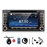 200x100mm Double Din, Touchscreen, Bluetooth, Navigation/GPS, DVD/CD/MP3/USB/SD AM/FM Car Stereo, 6.2 Inch Digital LCD Monitor, Wireless Remote For Toyota