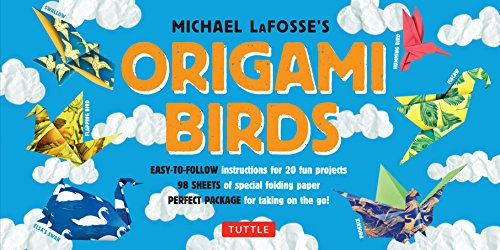 Cheap  Origami Birds Kit: Make Colorful Origami Birds with This Easy Origami Kit:..