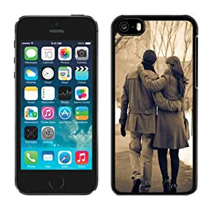 New Fashion Custom Designed Skin Case For iPhone 5c Phone Case With Lovers Winter Phone Case Cover