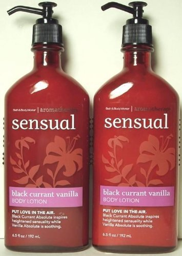 Aromatherapy Currant Vanilla Lotion Twin pack product image
