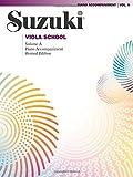 Suzuki Viola School Piano Accompaniments