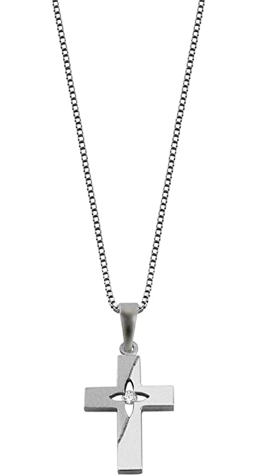 trendor Silber Kreuz Anhänger mit Kette 48849  Amazon.de  Schmuck 1252165333